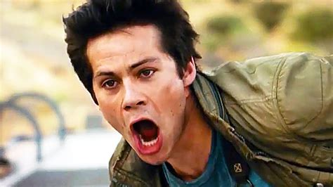 the maze runner movie images featuring dylan o brien maze runner 3 trailer 2018 the death cure dylan o brien
