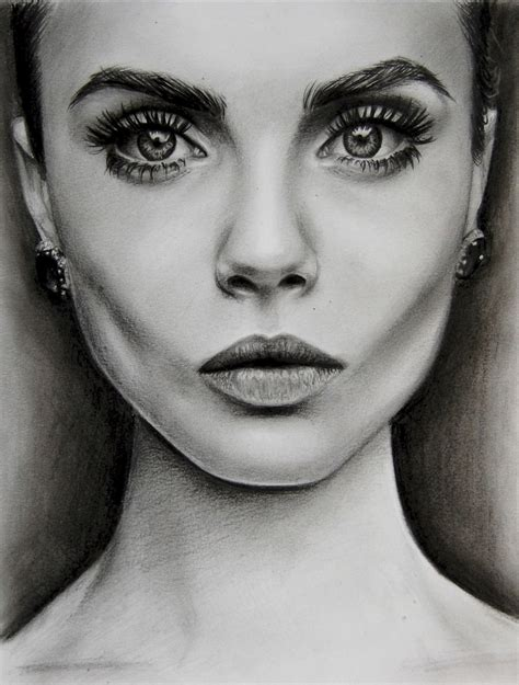 sketchbook cara cara delevingne by valontine on deviantart