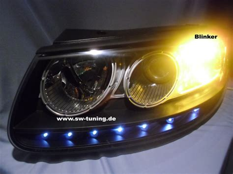 led len kaufen sw light headlight hyundai santa fe 06 09 led