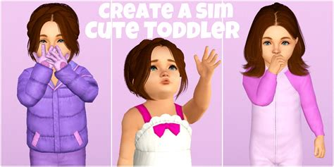 the sims 3 create a sim toddler
