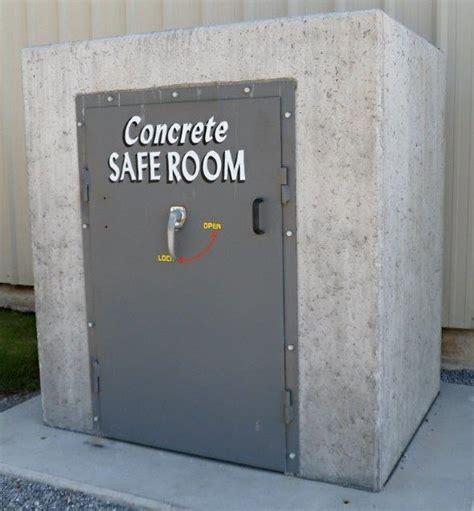 concrete safe room shelters safe rooms mitchell concrete