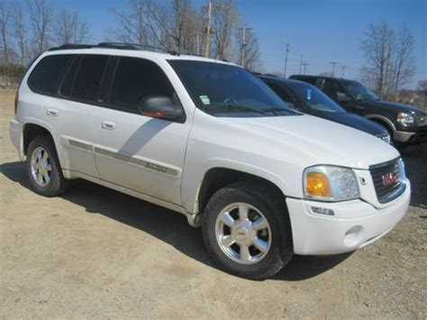 2004 gmc seats buy used 2004 gmc envoy slt 4x4 leather moonroof heated