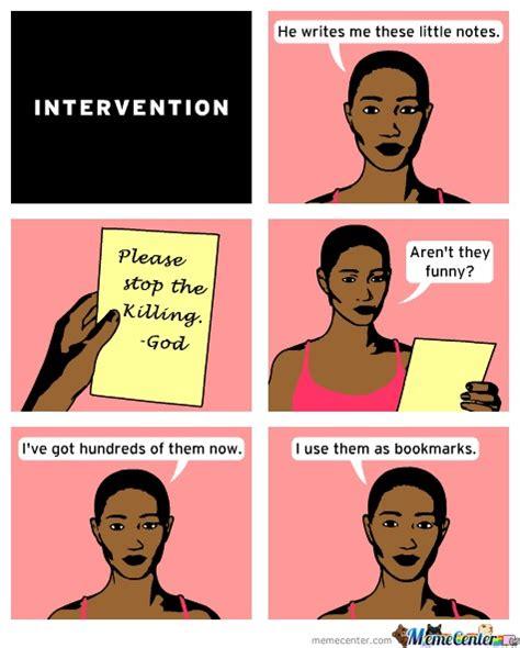 Intervention Meme - intervention by linkforce87 meme center