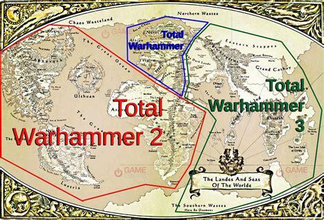 warhammer map total war warhammer 3 news what will be in total war