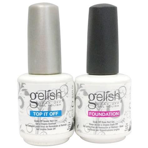 Best Uv L For Gelish by Gelish 5 Base Top Coat Gel Set Harmony Nail Salon Uv