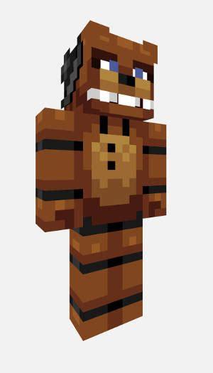 Pdf All Five Nights At Freddys Minecraft Skins five nights at freddy s minecraft freddy skin