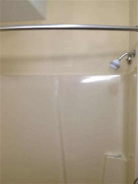 holiday inn express shower curtain no shower curtain picture of quality inn suites