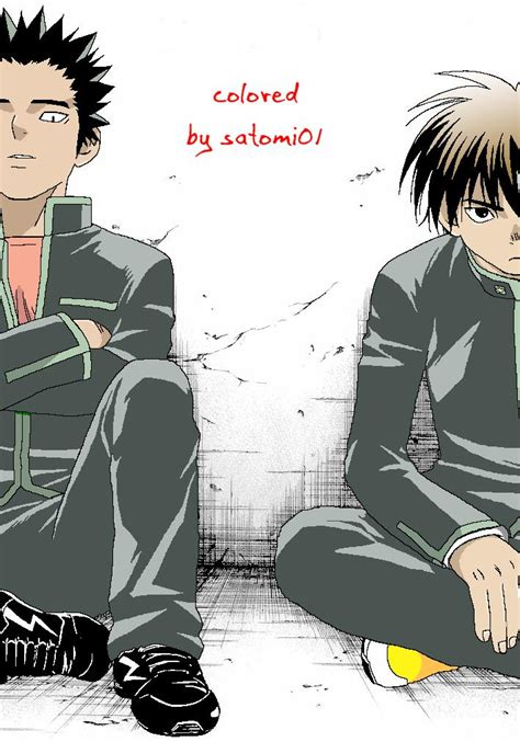 Kekian Isi 7 kekkaishi 7 2 yoshi and by kekkaishidream on deviantart
