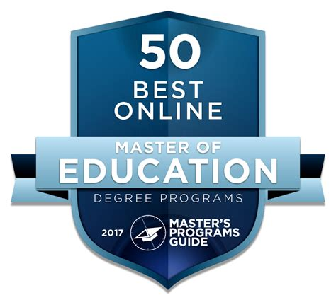 online degree programs study in the usa international 50 best online master of education degree programs 2017
