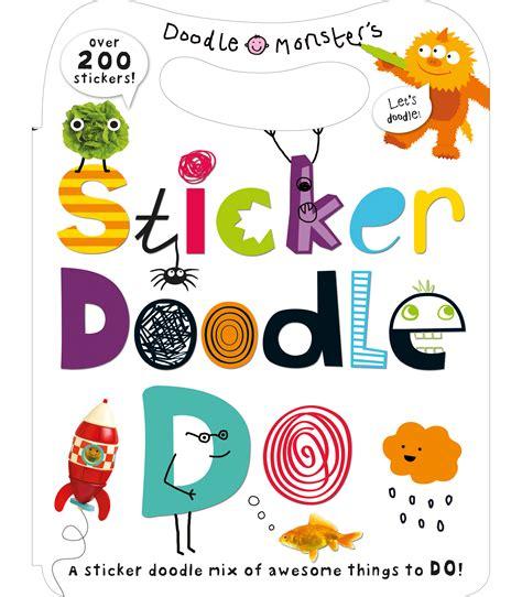 sticker doodle i you priddy books