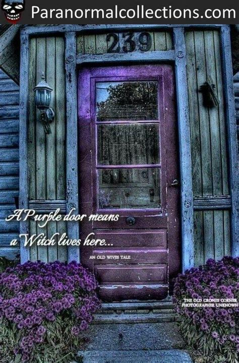 purple door meaning purple door means a witch lives here i m totally painting