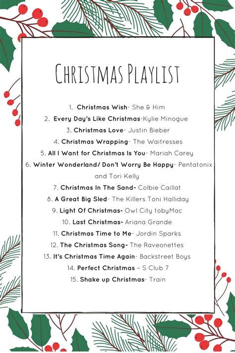 christmas modern music playlist pop fizz confetti