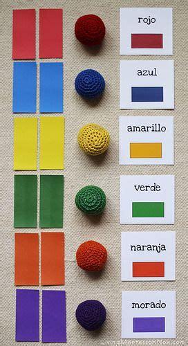 hispanic colors montessori monday montessori inspired color activities