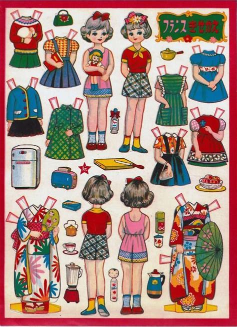 printable japanese paper dolls 411 best paperdoll printables 1 images on pinterest