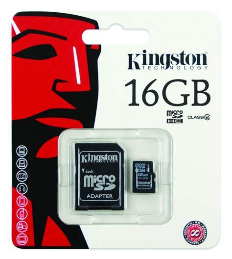 Kingston Microsdhc Card Class 4 4mbs 16gb kingston micro sd memory card 16 gb class 4 ห ฟ ง