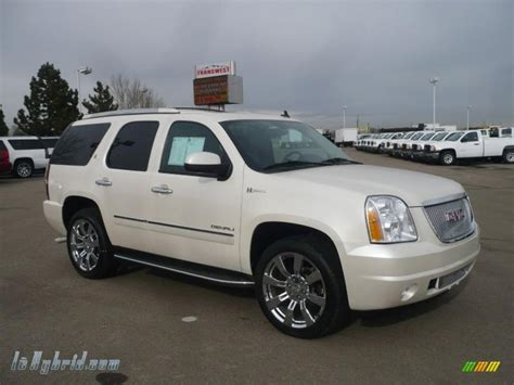 manual cars for sale 2010 gmc yukon navigation system 2010 gmc yukon hybrid denali 4x4 in white diamond tricoat 235691 lehybrid com hybrid cars