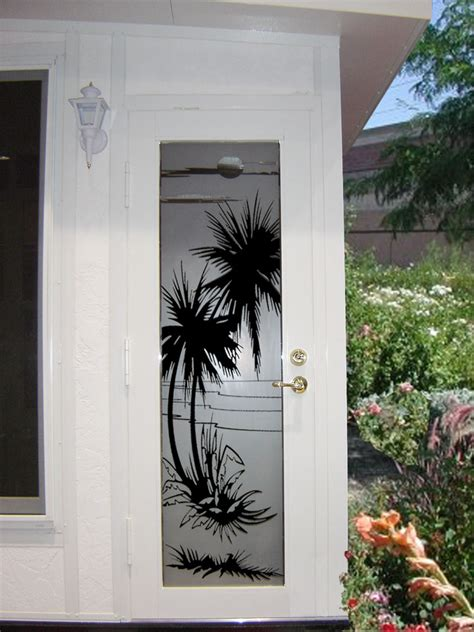 Vinyl Etched Decorative Decals The Look Of Real Etched Etched Glass Door Decals