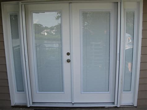 custom doors w interior blinds from gulfside glass - Doors With Blinds Inside Glass
