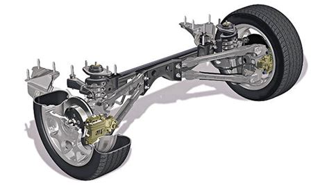 Simple Rear Car Suspension Simple Tech The Role Of Suspension Overdrive