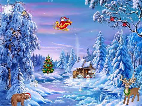 themes for windows 7 christmas holiday screensavers theme pictures to pin on pinterest
