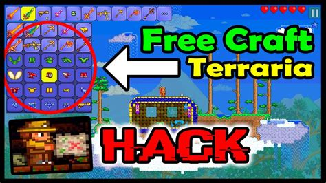 teraria apk terraria hack mod apk unlimited items health free craft damage more