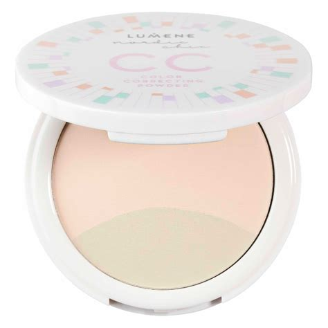 color correcting powder lumene nordic chic cc color correcting