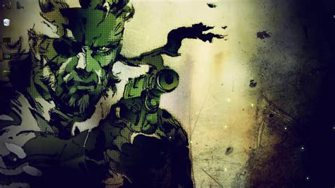 metal gear live wallpaper metal gear solid 3 snake big live wallpaper