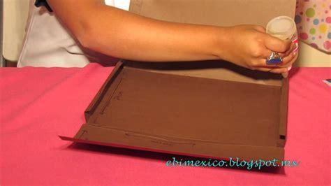 como hacer una carpeta de carton como hacer una carpeta guarda plan de aula youtube