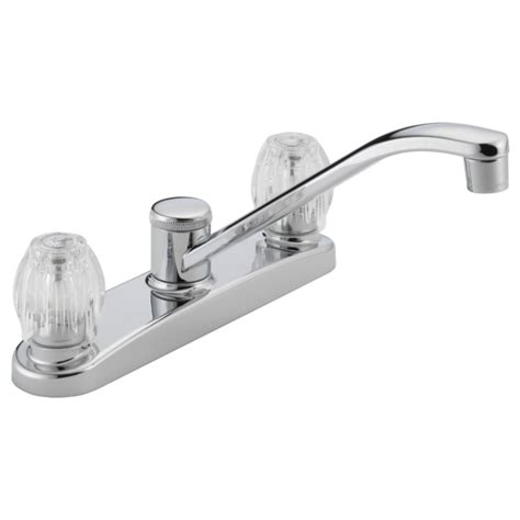 two handle kitchen faucet p220lf two handle kitchen faucet