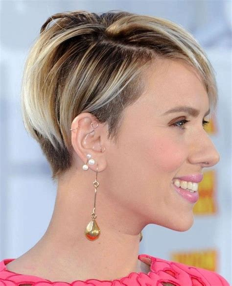 Johansson Hairstyles by 20 Best Collection Of Johansson Haircuts