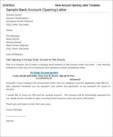 letter template for bank bank letter templates 7 free sle exle format