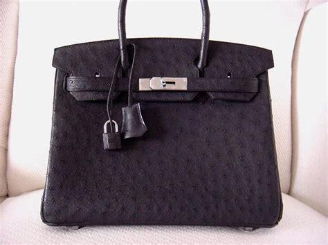 Hermes Birkin Ostrich Mini Black hermes birkin 30 ostrich bag stunning matte black at 1stdibs