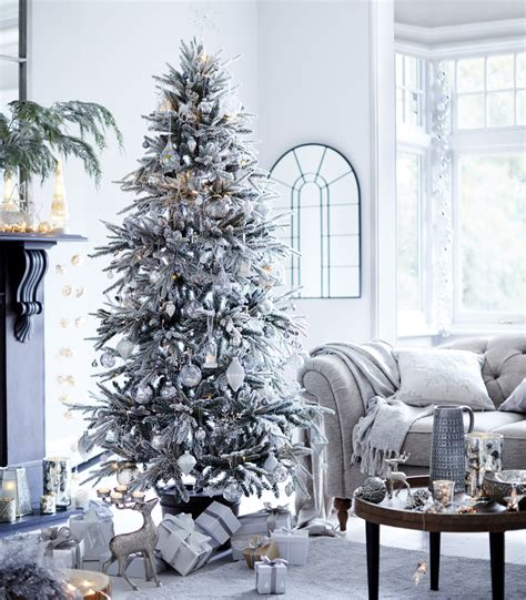 b and q best christmas trees best artificial trees to light up the festive season ideal home