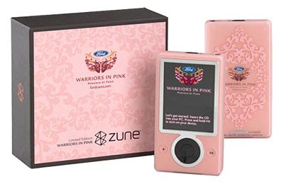 A More Pleasing Pink Zune by Freshpilot Buy A Pink Zune Fight Breastcancer