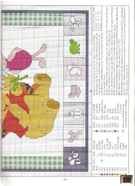 Winnie The Pooh Cross Stitch Birth Record 314 Best Images About Winni De Pooh On Cross