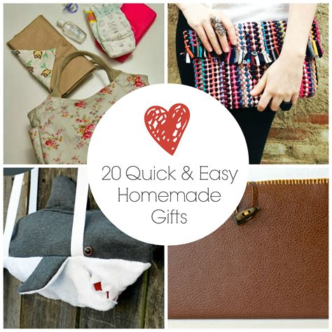 Easy Handmade Gifts - 20 and easy gifts favecrafts