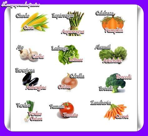imagenes vegetales en ingles leer y aprender juntos verduras en ingl 233 s