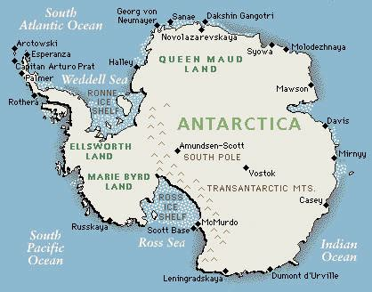 antarctica map with country names and capitals antarctica photo 04 image size 418 на 328 px