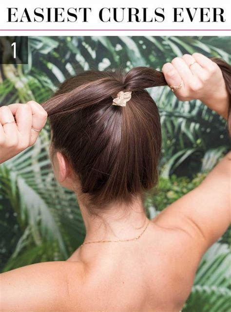easy hairstyles you can do in 5 minutes easiest curls ever easy hairstyles you can do in 5