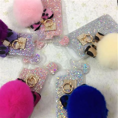 Iphone 7 Plus Make A Wish Aqua Glitter for iphone 6 6s 7 plus 6 korea glitter flake soft leopard