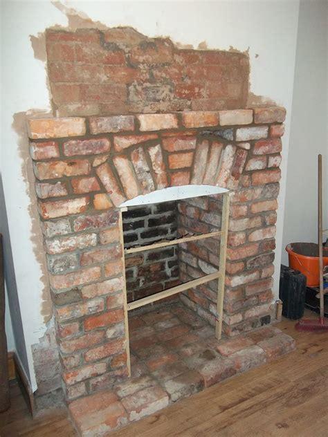 Reclaimed Brick Fireplace by Apollo Heatsource 100 Feedback Chimney Fireplace