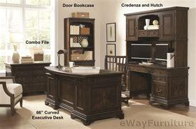 stratford 66 inch curved executive desk hardwood home