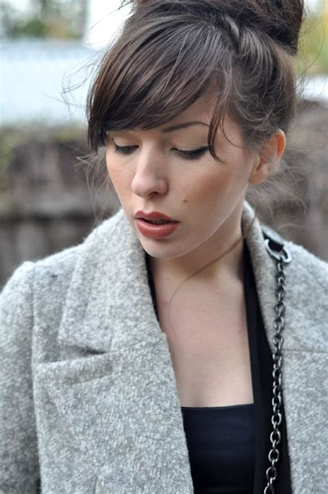 graduated bob with side parting and fringe best 25 graduated bob with fringe ideas on pinterest