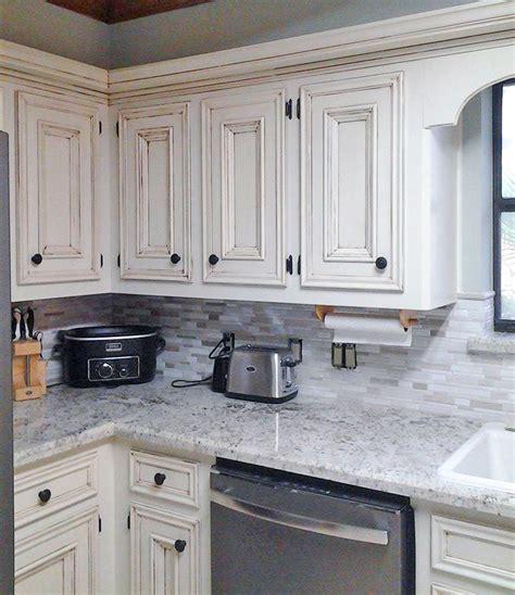 Vintage Kitchen Makeovers Antique White Kitchen Makeover General Finishes Design