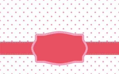 Pink Polka Dot With Frame Background Labs | pink polka dot with frame background labs
