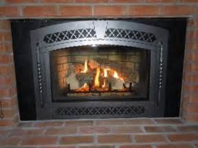 osburn wood fireplace insert blower on custom fireplace
