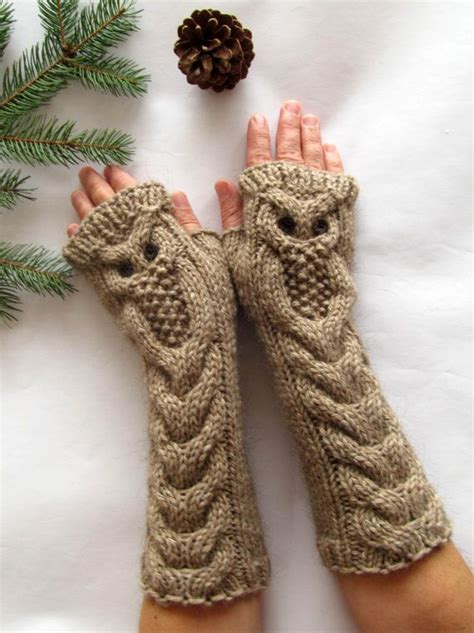 knitting pattern database owl mittens knitting pattern free google search