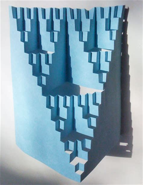 how to make a fractal card fractal cutout card fractal foundation