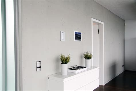 Wand Betonoptik Streichen by W 228 Nde In Sichtbetonoptik Wand In Beton Optik Anleitung