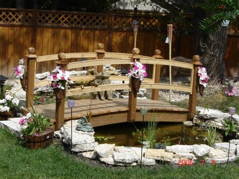 yard bridge small wooden bridges for yards bing images